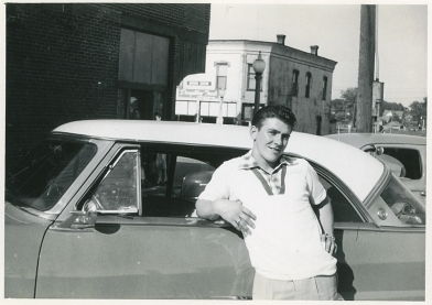 Joe K with Car