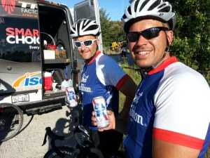 PBR may just be the perfect  fuel for this event.